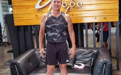 Carlos Álvarez, un amante del ejercicio