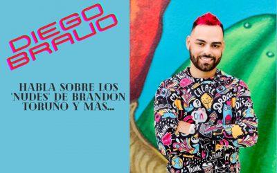 Diego Bravo habla sobre los «nudes» de Brandon Toruño y más…