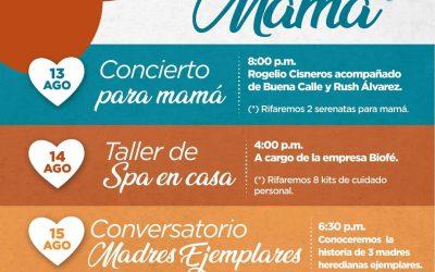 Municipalidad de Heredia le regala a Mamá un festival especial para ella