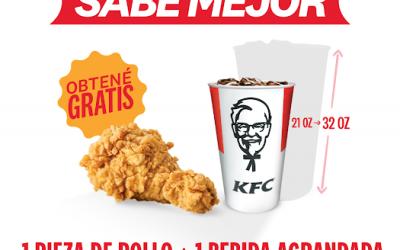 """KFC premia a las personas con la promoción """"Vacunados KFC Sabe Mejor"""""""