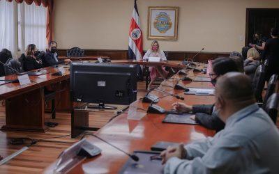 Primera Dama Claudia Dobles, recibió a representantes  de Federación ONGs de pacientes de Costa Rica