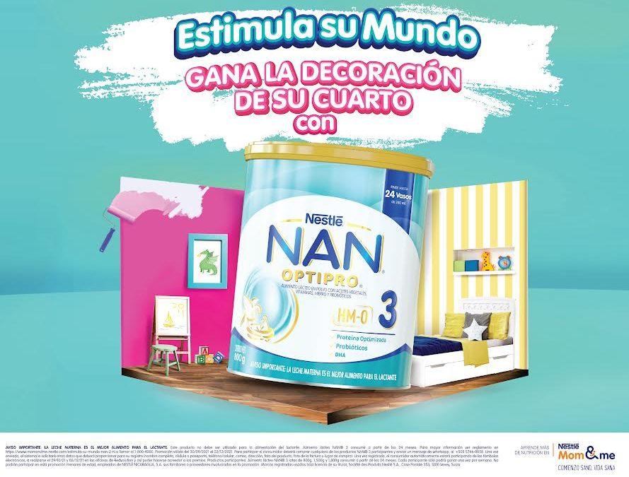 Gane una decoración completa para el cuarto de su hijo con NAN®3