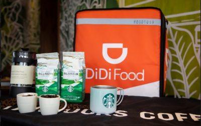 DiDi Food celebra el Día Internacional del Café con la llegada de Starbucks a la app