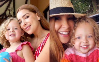 (Foto) Ericka Morera no cambia tiempo con su hija: «Mi felicidad»