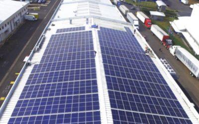 Auto Mercado construye su primer micro-red de energía limpia