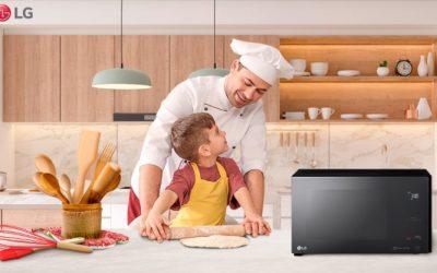 20 de octubre: celebra el Día Internacional del Chef preparando deliciosas recetas en tu microondas LG NeoChef