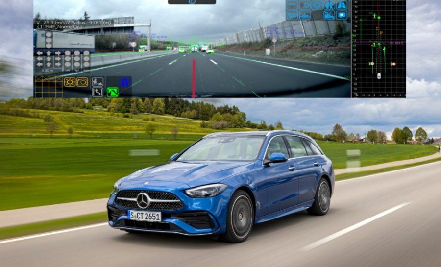 Módulo de cámara LG aumenta seguridad del conductor y pasajeros en nuevo Mercedes-Benz C-Class