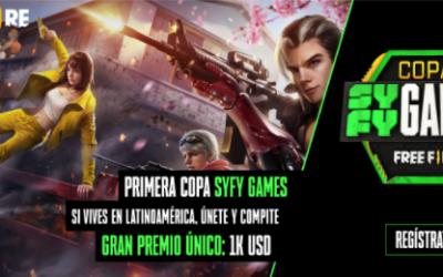 SYFY anuncia la Primera Edición de la ¨Copa SYFY Games¨ 2021  en Latinoamérica