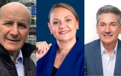José María Figueres, Welmer Ramos y Lineth Saborío son los tres candidatos que lideran la conversación en redes sociales