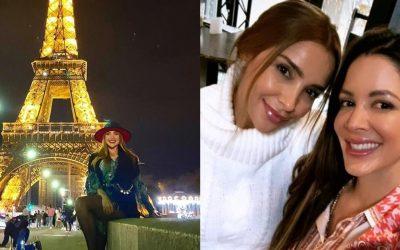 (Fotos) Periodista Ericka Morera disfruta sus vacaciones en París