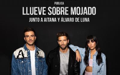 """Pablo Alborán publica """"Llueve sobre Mojado"""" junto a Aitana y Álvaro de Luna"""